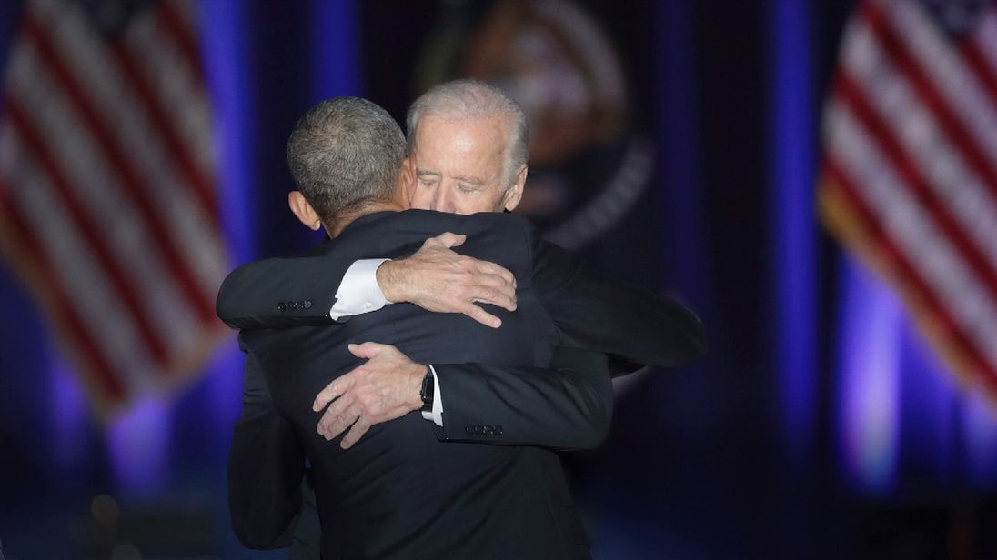 Barack Obama and Joe Biden have maintained an extremely good relationship while in office