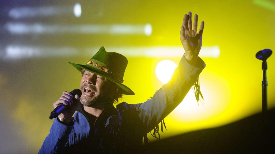 British singer jay kay of pop band Jamiroquai has yet to announce UK tour dates