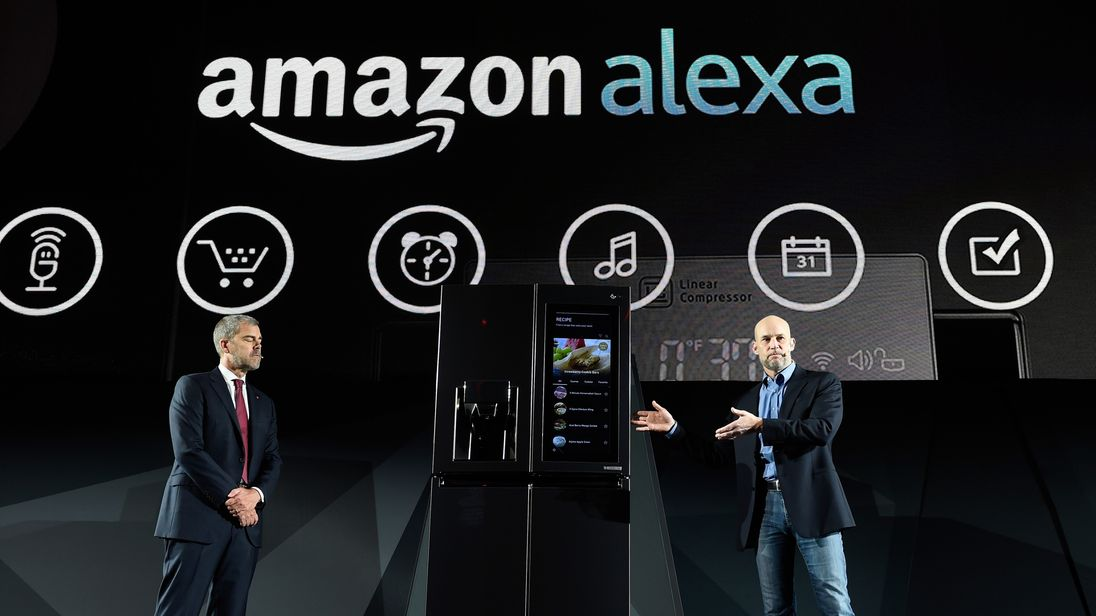 Amazon sales up 39% as Jeff Bezos praises rise of Alexa