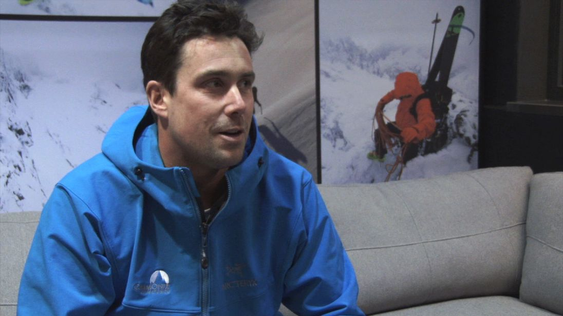 Sébastien Rougegré, mountain guide and director of Chamonix Experience