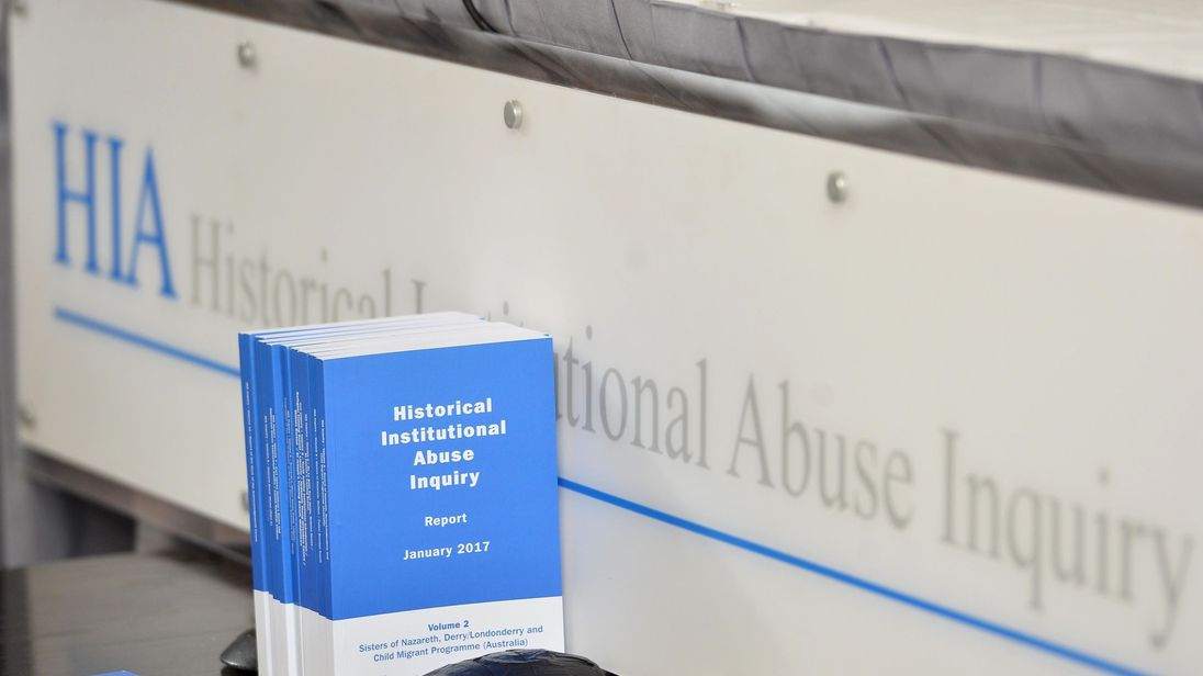 Copies of the Historical Institutional Abuse inquiry report