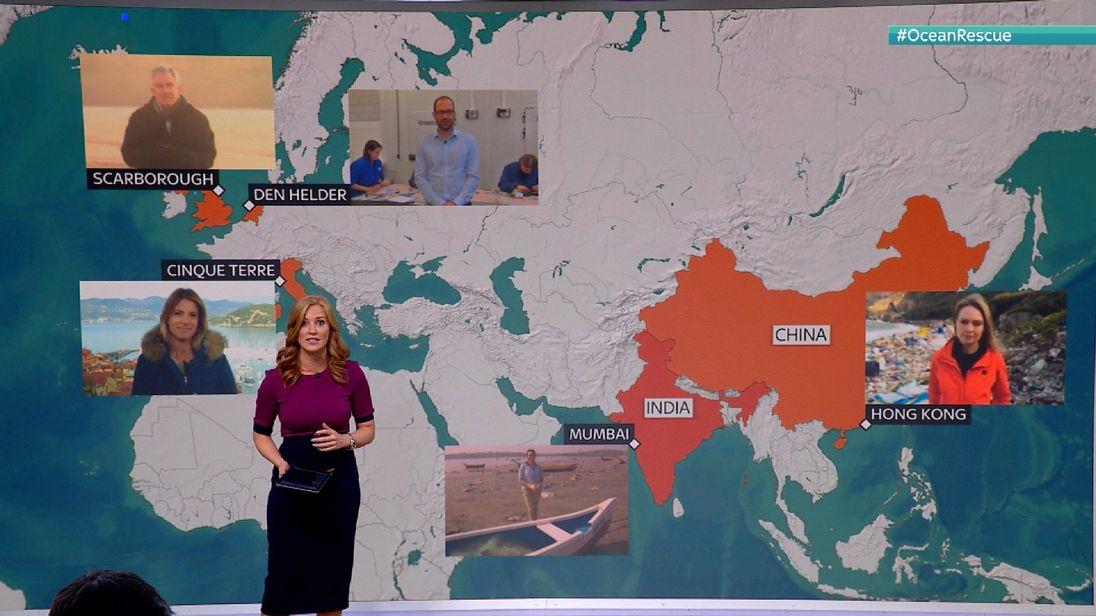 Sarah-Jane Mee plastics map