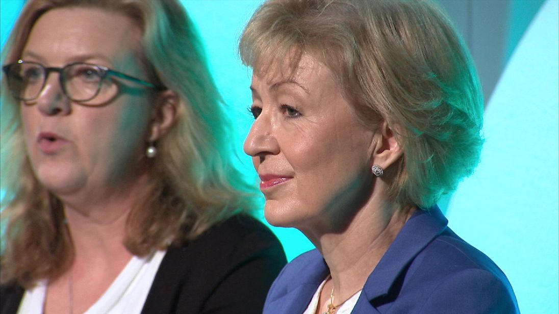 Andrea Leadsom screen grab