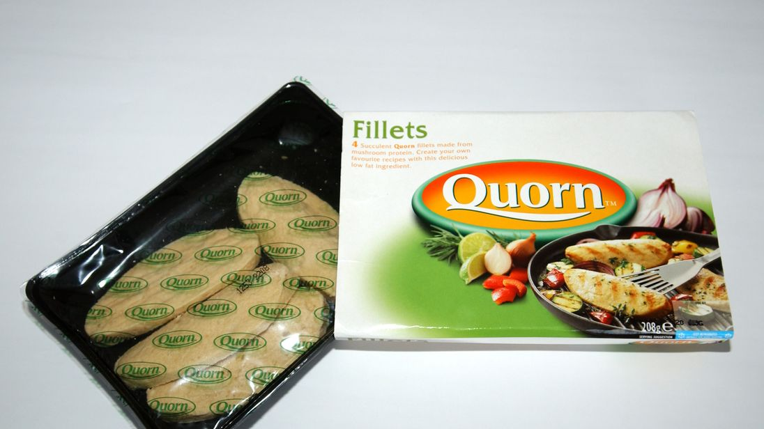Quorn is a vegetarian favourite