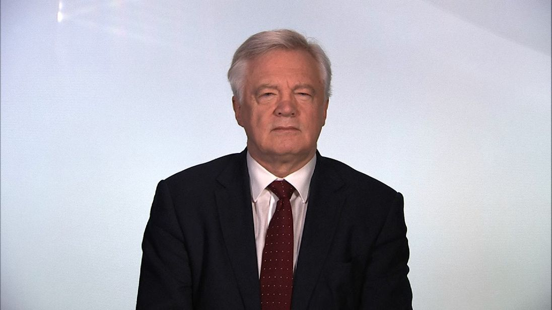 David Davis says Theresa May's 12-point Brexit plan is a good start