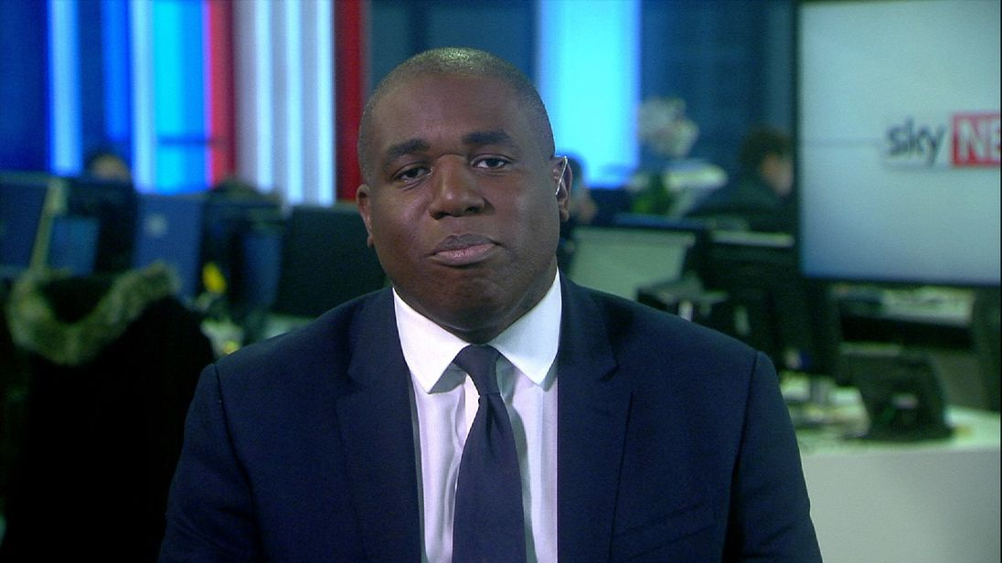 David Lammy MP is disappointed that Tristram Hunt has resigned from the Labour Party