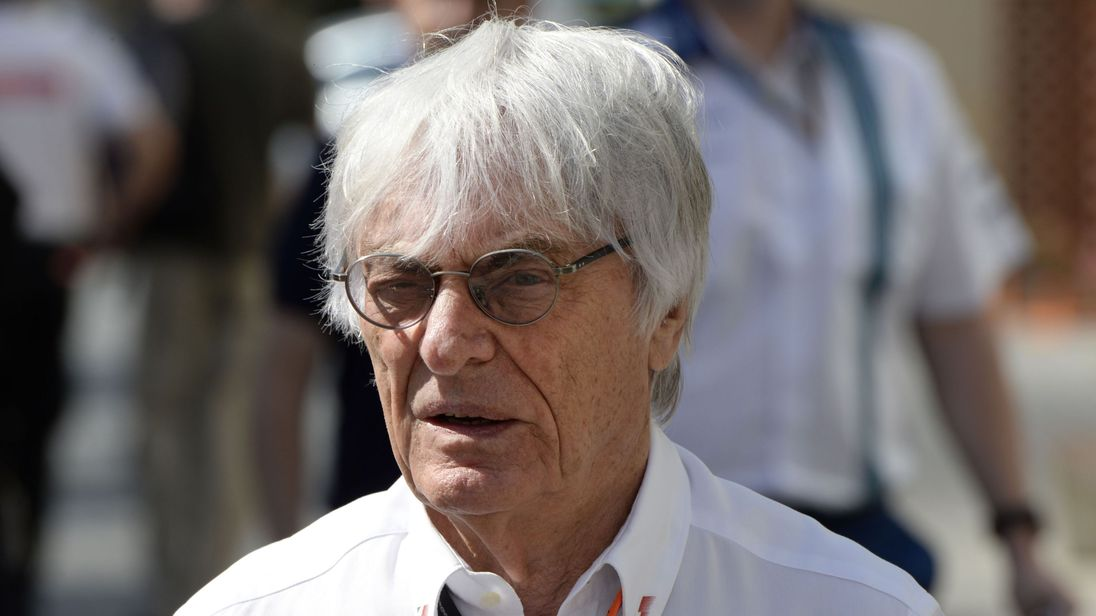 Bernie Ecclestone is stepping down as F1 chief executive