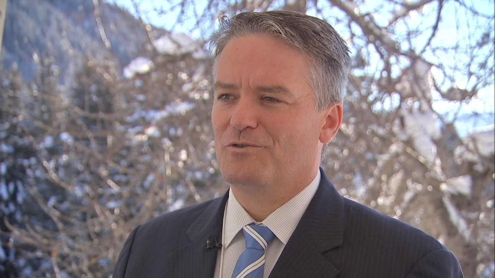 Australia's Finance Minister talks about deal with the UK