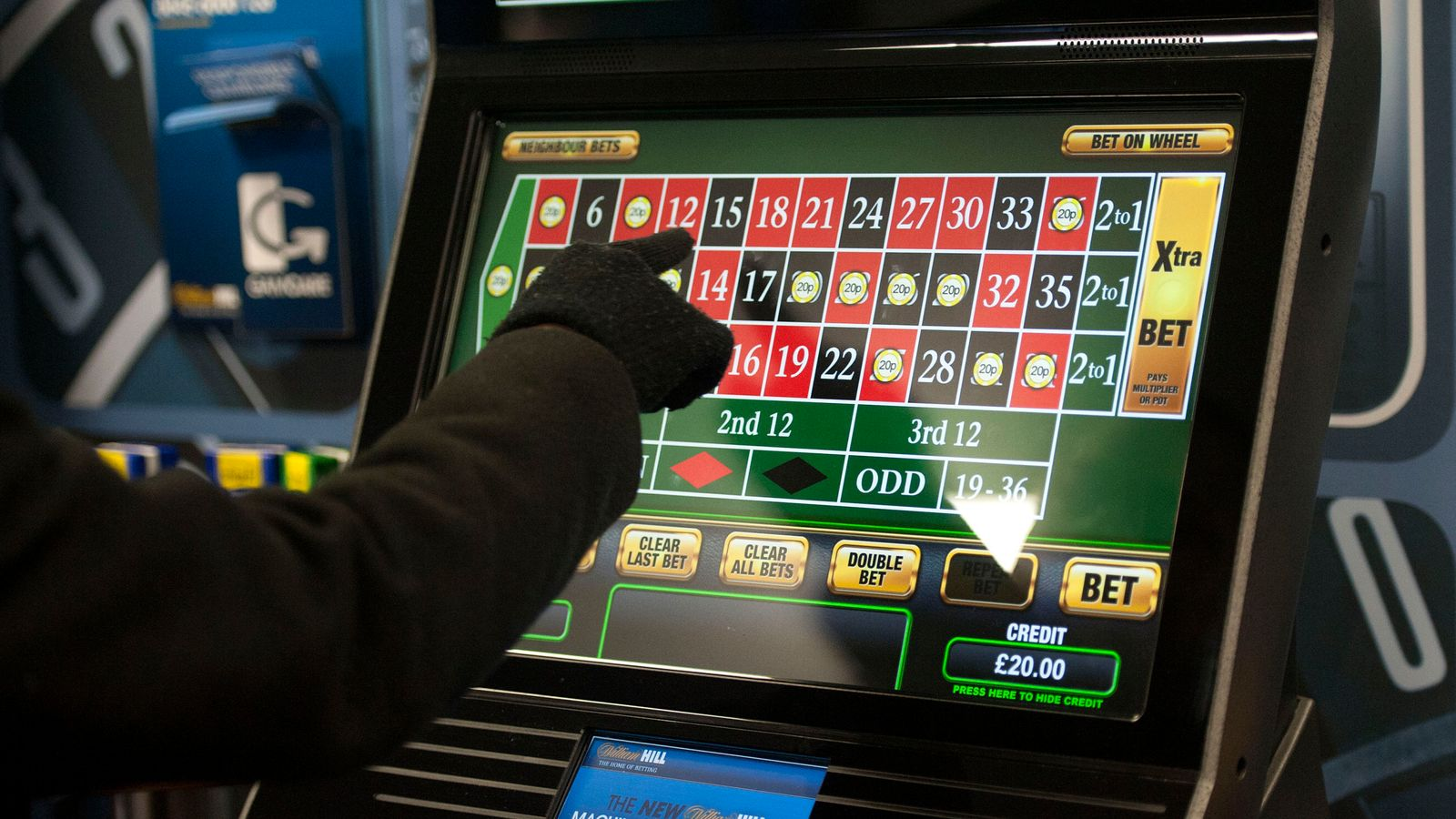 fixed odds betting terminals rigged book