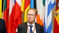 Sir Ivan had faced criticism from Eurosceptics