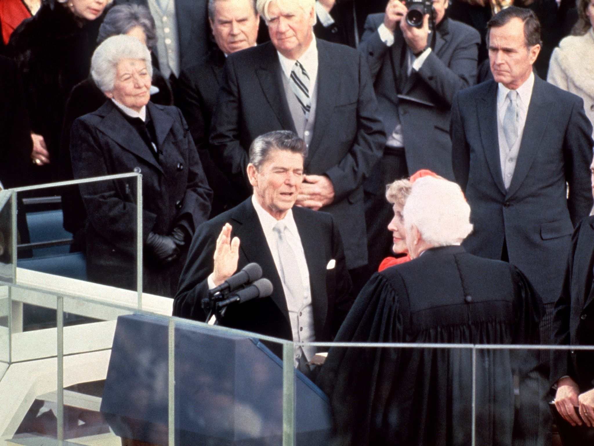 a breakdown of ronald reagans effective inaugural speech 10072017 learn key facts about the presidency of ronald reagan,  there are still theories on why they released after his inaugural speech.