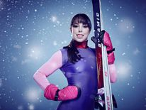 Beth Tweddle in a publicity shot for The Jump