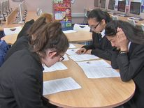 Schoolchildren try reading the terms and conditions of popular social media sites