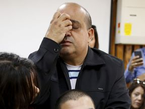 Elor Azaria, pictured at a hearing in March