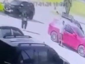CCTV shows Briton Tony Kenway walking to his car before being shot dead. Pic: Thai Visa News