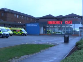 King's Mill Hospital A&E department in Nottinghamshire.