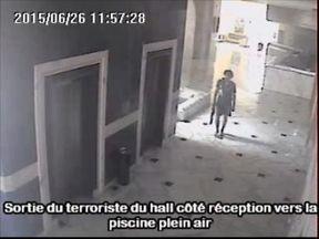 Seifeddine Rezgui Yacoubi during his rampage in Tunisia