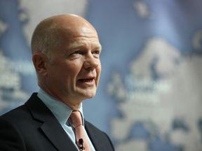 Former Tory leader William Hague was made a peer after he left frontline politics