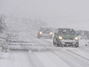 Forecasters say colder weather will bring snow to the UK