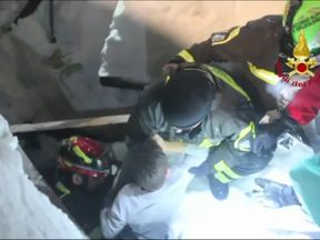 Rescuers dug out young survivors after a deadly avalanche struck a hotel