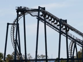 Movie World said there was a 'mechanical issue with the chain' of the ride