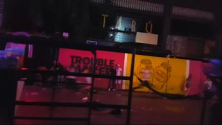 People flee from gunman opening fire at a nightclub in Mexico