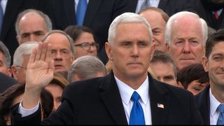 Mike Pence becomes US Vice-President