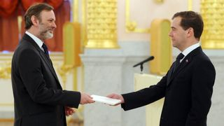 Sir Tim Barrow was previously the UK's ambassador to Russia