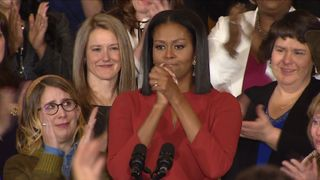 Michelle Obama delivers her final speech as America's First Lady