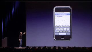 9 January 2007: Steve Jobs introduces the first iPhone