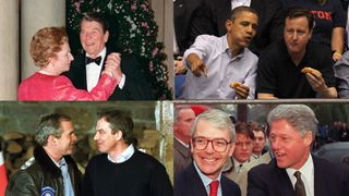 Former UK prime ministers and US presidents have enjoyed close relations