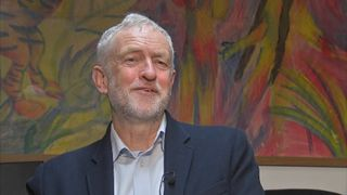 Jeremy Corbyn up-beat about state of Labour Party