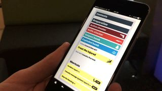 The Citizen Aid app includes first aid advice designed for people caught up in a terror attack.