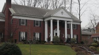 The house where Donald Trump grew up