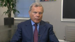 Sir Martin Sorrell, chief executive of the the advertising giant WPP