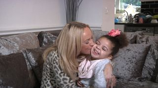 Louise Bostock, who has turned to CBD to ease her daughter Jayla's pain