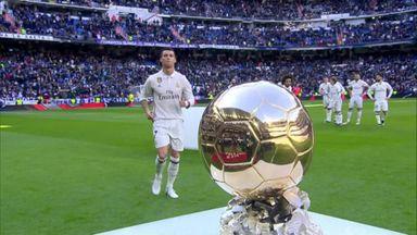 Ronaldo picks up Ballon d'Or