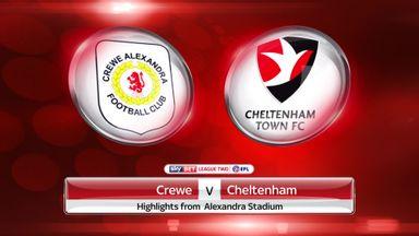 Crewe 0-0 Cheltenham