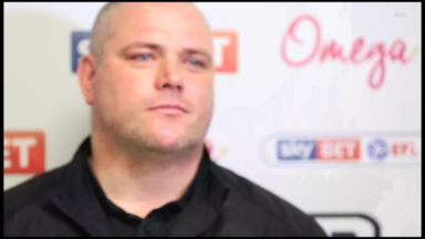 Morecambe boss moved to tears