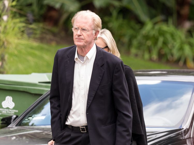 Actor Ed Begley Jr. arrives for a private memorial at the former residence of actress Carrie Fisher January 5, 2017 in Beverly Hills, California. Fisher, 60, died December 27, 2016 after suffering a medical emergency onboard a flight from London to Los Angeles December 23. Debbie Reynolds, Fisher's mother, died December 28, 2016 of an apparent stroke