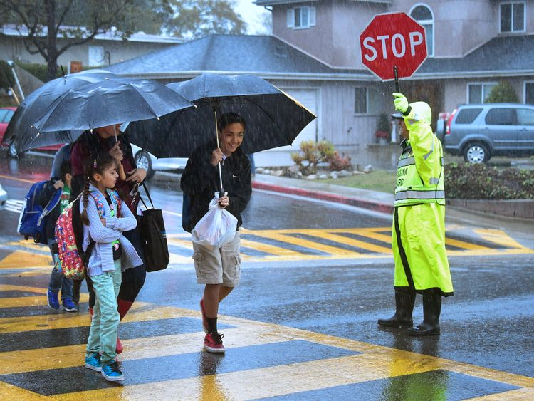 California has experienced storms with heavy rains since October