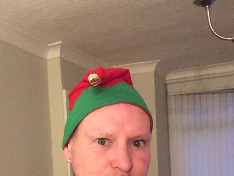 Paul Gascoigne's agents A1 Sporting Speakers urged people to share happy festive photos of the star