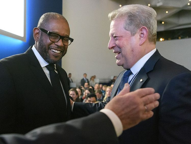 Forest Whitaker and Al Gore 'improving the state of the world'