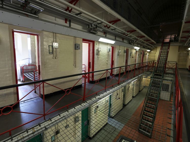 Homicides have gone down in prisons but suicides increased