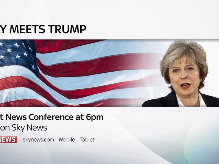 Watch live coverage of Theresa May and Donald Trump's press conference