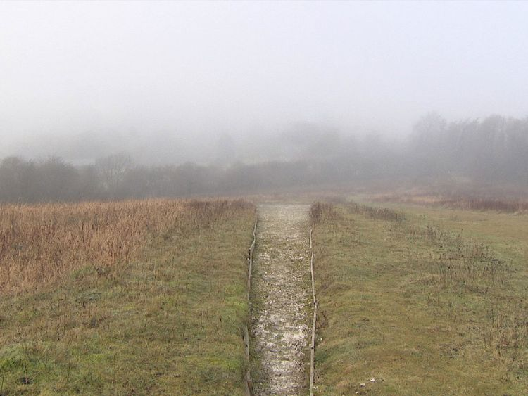 Watlington in Oxfordshire where a hoard of Anglo Saxon coins were found