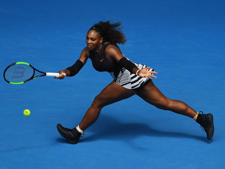 Williams negotiated a potentially difficult meeting with Belinda Bencic in straight sets