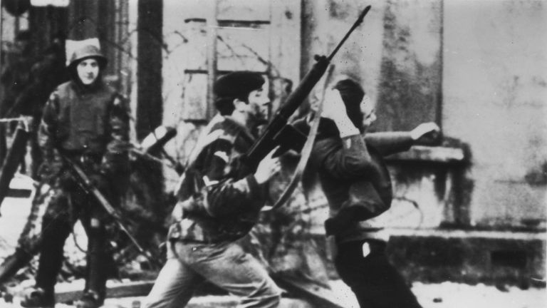 The Cabinet Minister's comments come on the anniversary of Bloody Sunday
