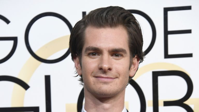 Actor Andrew Garfield attends the 74th Annual Golden Globe Awards at The Beverly Hilton Hotel on January 8, 2017 in Beverly Hills, California