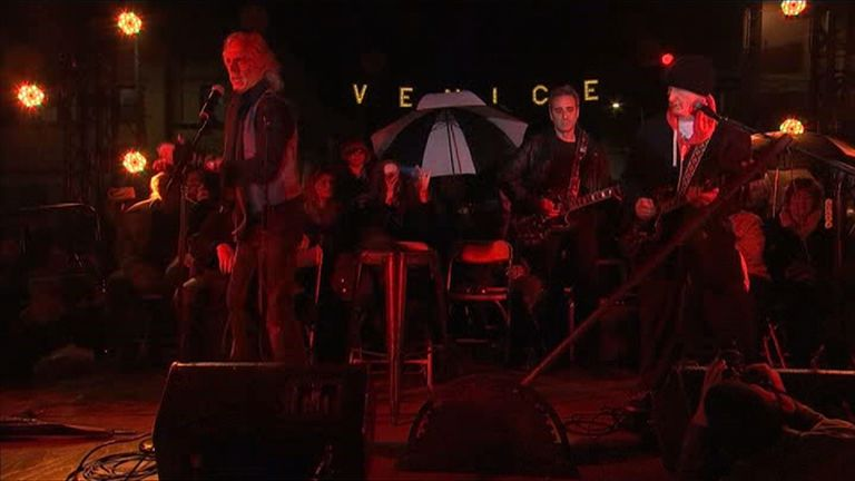 Jon Densmore and Robby Krieger celebrate the 'Day of the Doors'